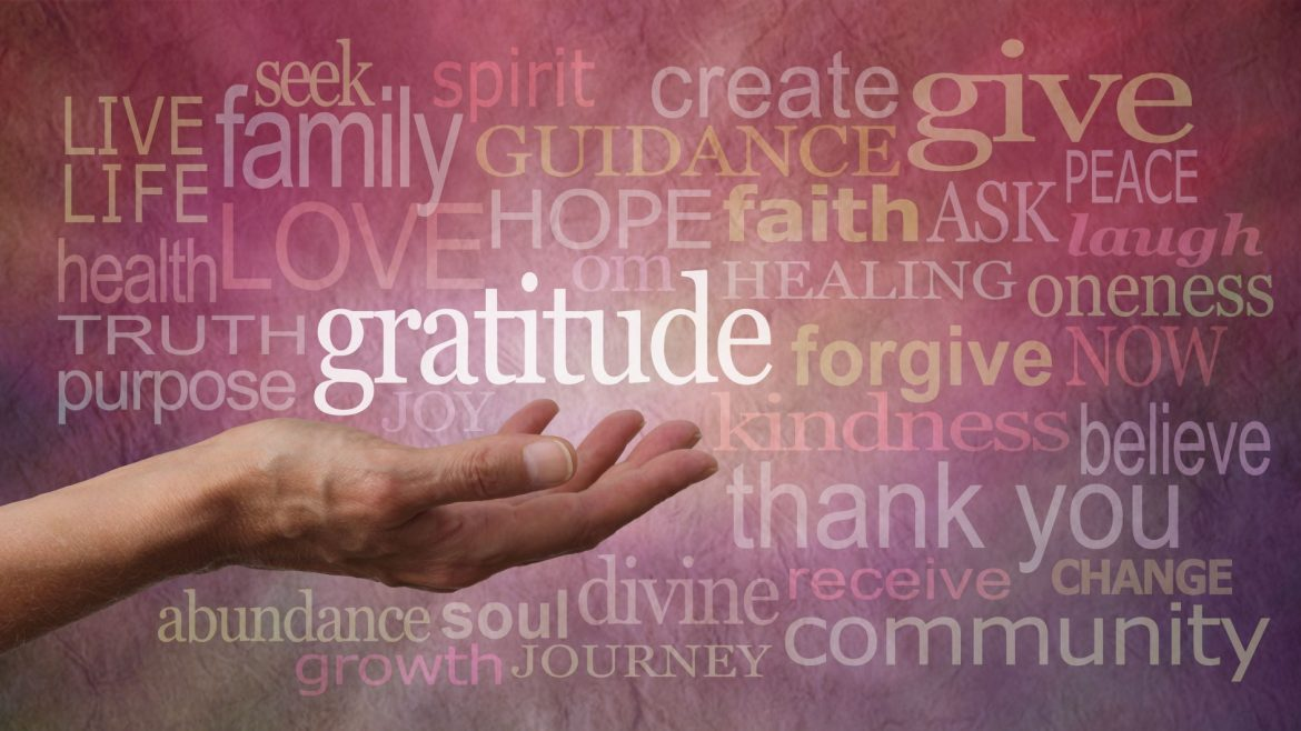 Gratitude and Giving